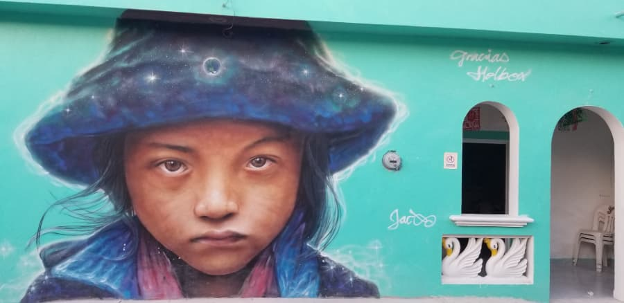 mexicofinder holbox street art