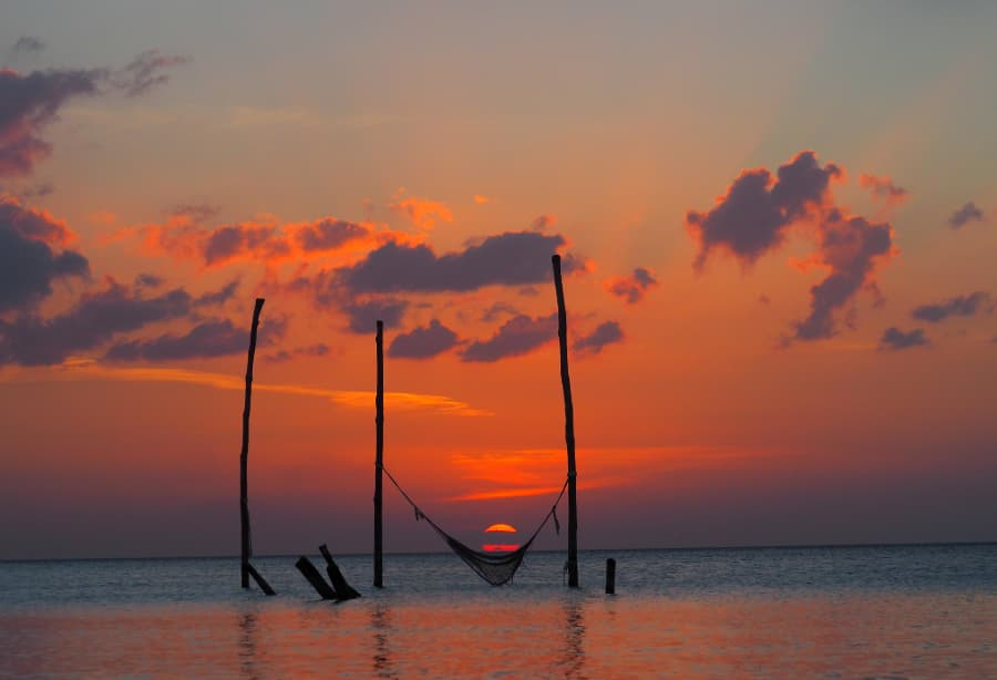 mexicofinder holbox sunset